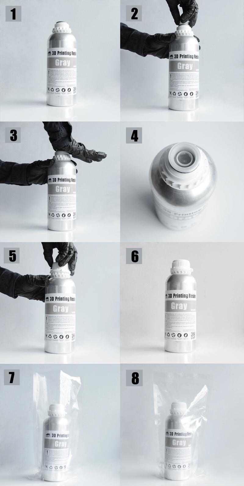 Качественная упаковка Wanhao resin