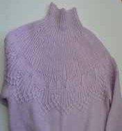 свитер из пряжи Mohair Delicate