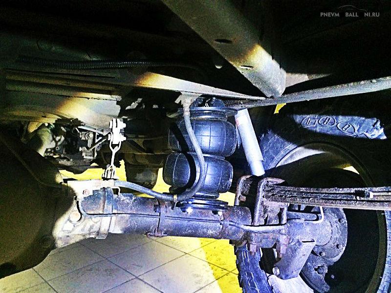 Задняя пневмоподвеска для УАЗ Патриот/Хантер