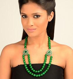 Индийская актриса с нефритом