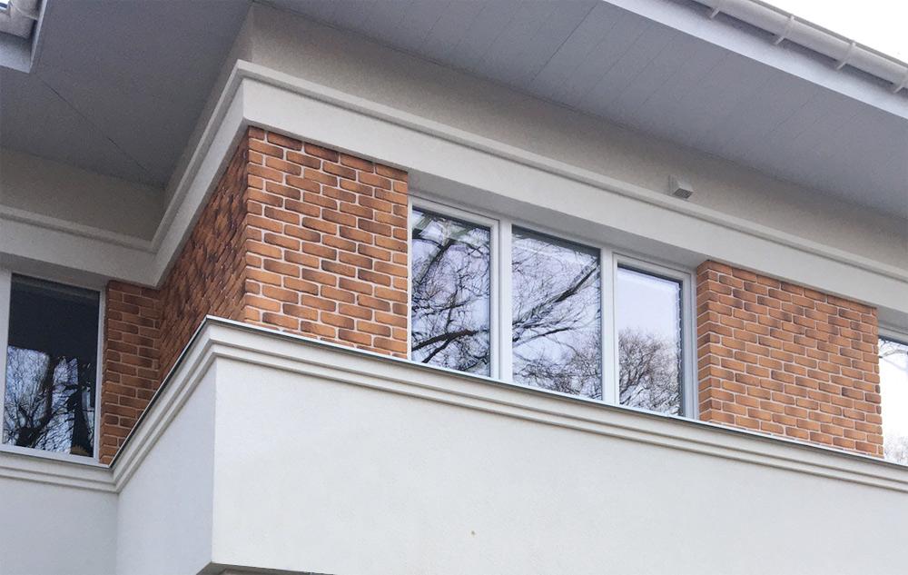 Карниз междуэтажный элемент фасадного декора