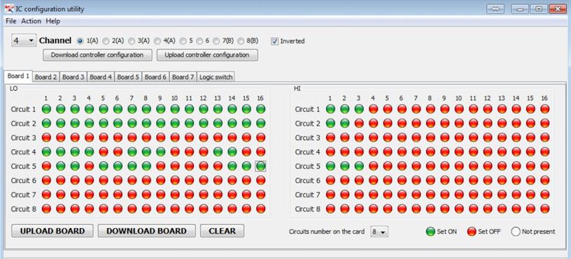 Для программирования интеллектуального контроллера аварийного освещения применяется специальное программное обеспечение.