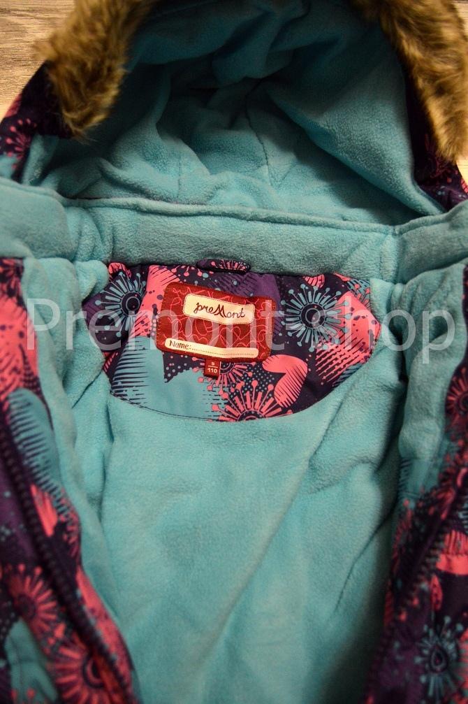 Флисовая подкладка на комплекте Premont Фестиваль огней Монреаля