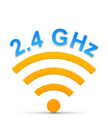 Long-range 2.4 GHz wireless