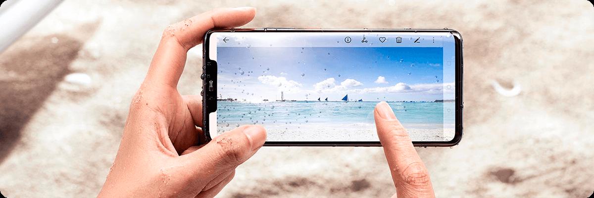 Huawei Mate 20 Pro фото, IP68