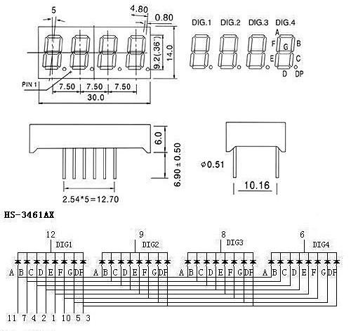 Модуль клавиатуры и светодиодной индикации TM1638 LED&KEY