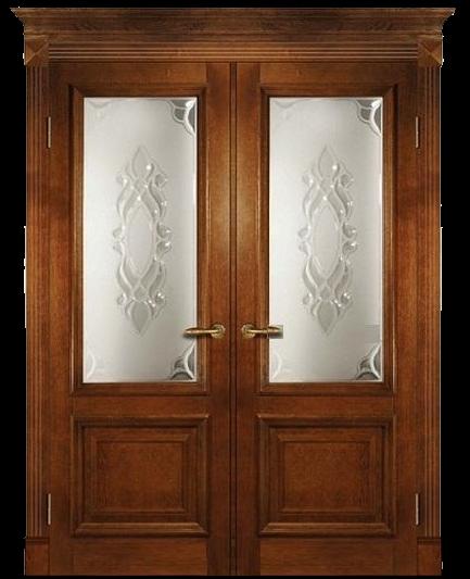 двустворчатые распашные двери