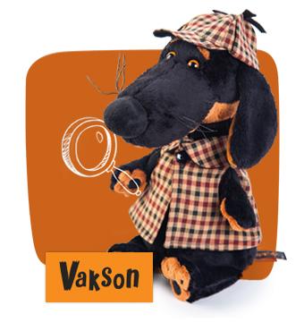 Ваксон  друг Басика, мягкая игрушка BudiBasa