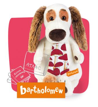 Бартоломей друг Басика, мягкая игрушка BudiBasa