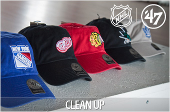 Бейсболки '47 Brand NHL Clean Up