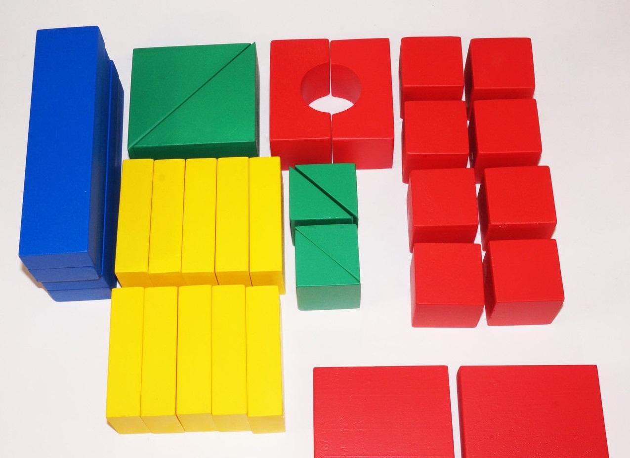 конструктор детский строитель настольный 32 элемента