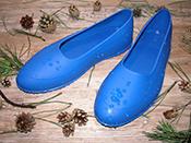 Галоши на обувь мужские синие