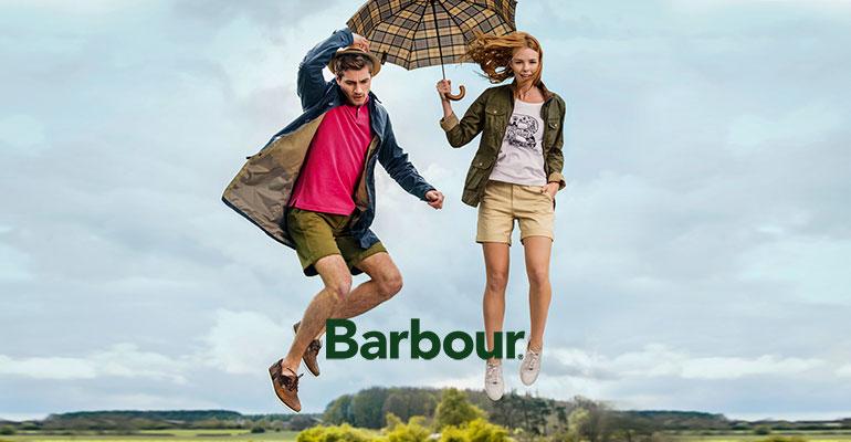Водонепроницаемые куртки британского бренда Barbour