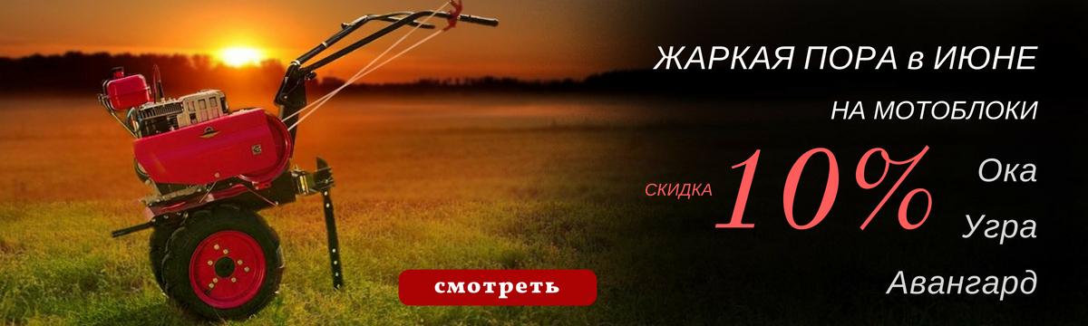 Купить мотоблок Ока Угра Авангард по акции