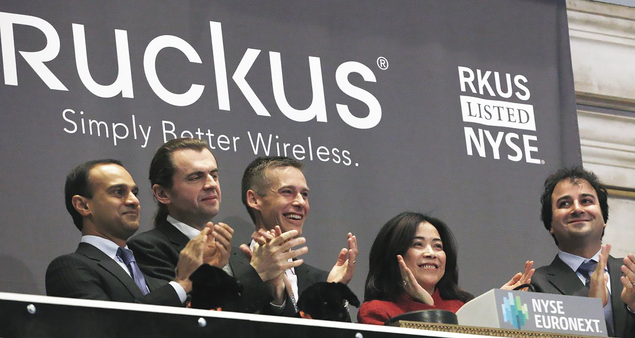 Ruckus Wireless agreed to be acquired by Brocade Communications on Monday. PHOTO: BRENDAN MCDERMID/REUTERS