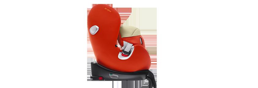 Положение по ходу движения автомобиля - для детей весом 9-18 кг