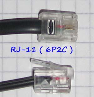 RJ-11 разъем 6P2C