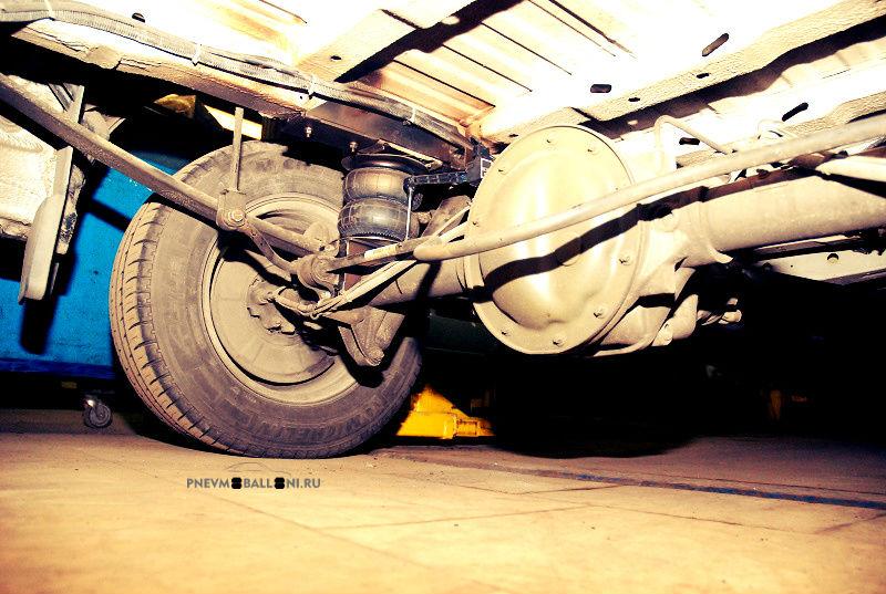 Mercedes Sprinter левый пневмобаллон