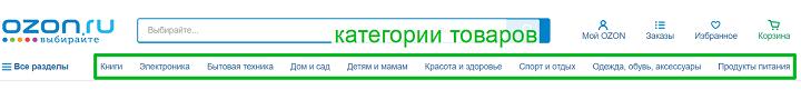 Интернет-магазин ozon.ru