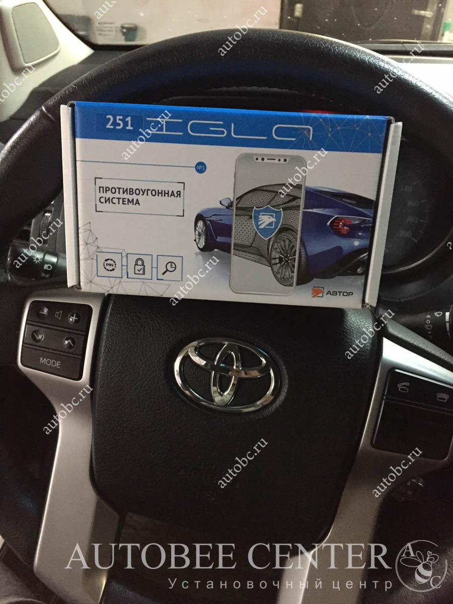 Toyota LC Prado 150 (иммобилайзер Игла)