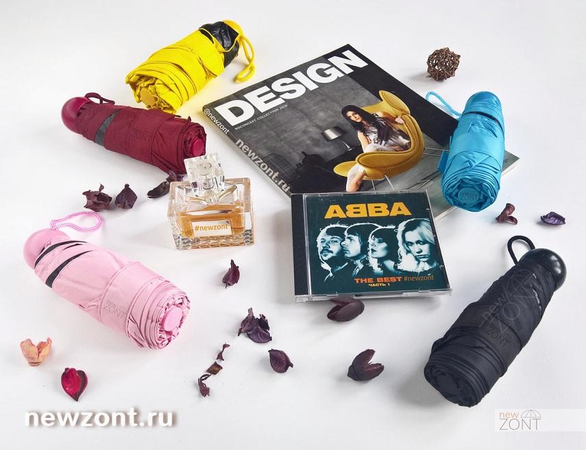 капсульные мини зонтики разные расцветки купить в Москве