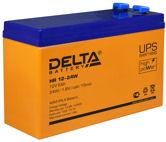 Аккумуляторные батареи ИБП DELTA HR-W 12-24W