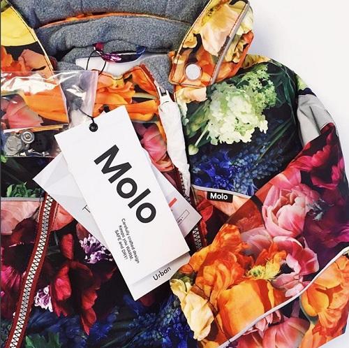 комбинезон Molo Pyxis Flower Rainbow для девочек купить в интернет-магазине Мама Любит!