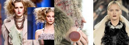 Массивные и многорядные украшения из натуральных камней на пике популярности в моде 2011 года