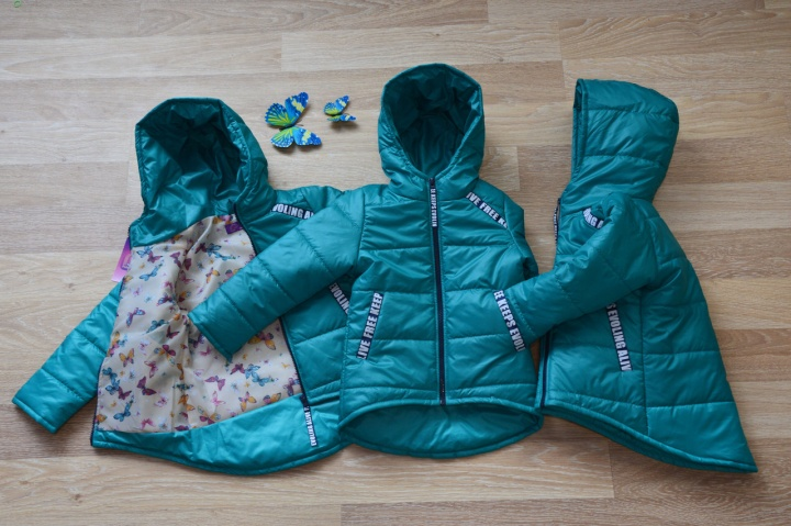 Стоимость курточки на ребенка сопоставима с ценой аналогичной взрослой вещи