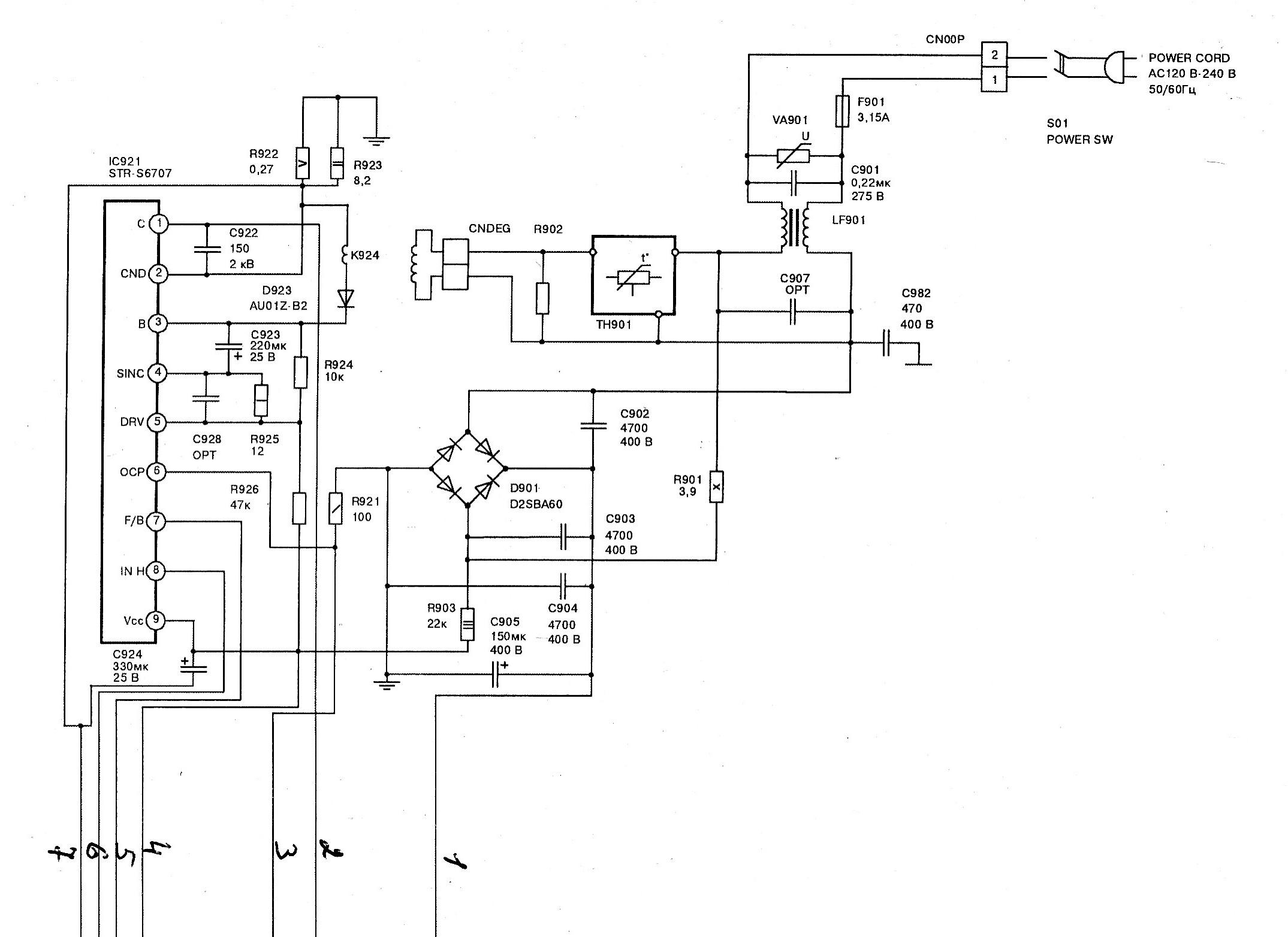 Схема jvc av 14te фото 587
