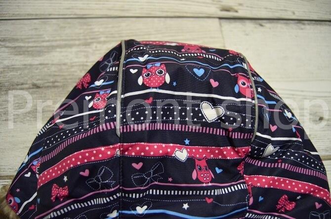 Светоотражающие канты на капюшоне куртки Premont Рождество в Калгари