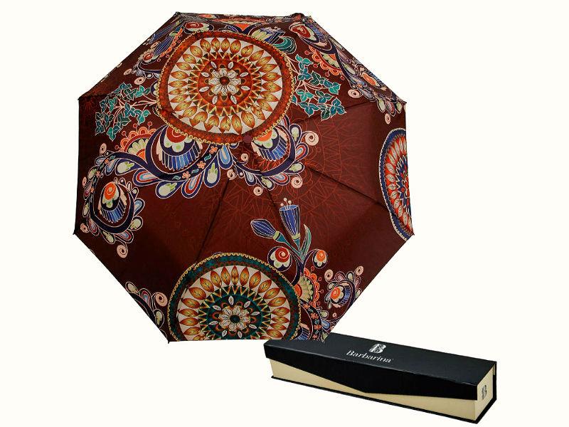 Модный растительный орнамент зонтик автомат