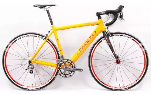 Велосипед с магниевой рамой