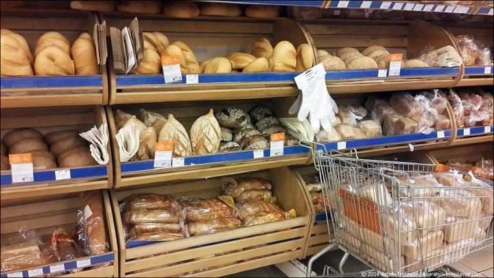 Оборачиваемость хлебо-булочной продукции всегда высокая
