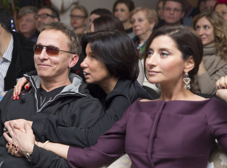 Актёр Иван Охлобыстин, телеведущая Ирада Зейналова и журналист Софико Шеварднадзе
