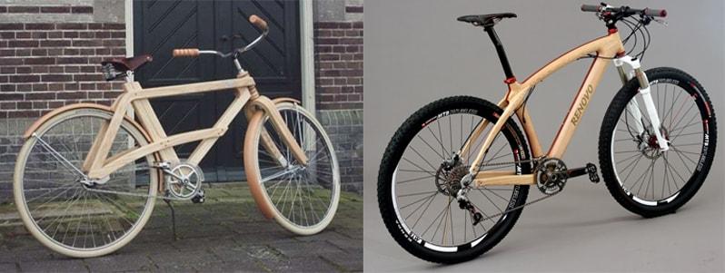 Велосипеды с деревянными рамами