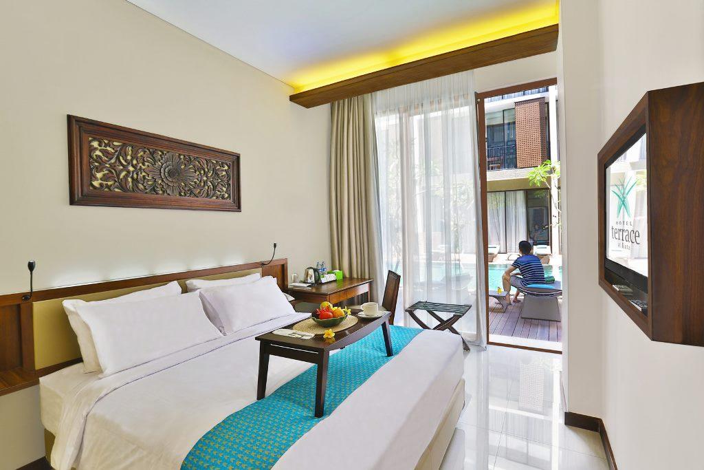 Серф отель в Куте, Бали. Номер double