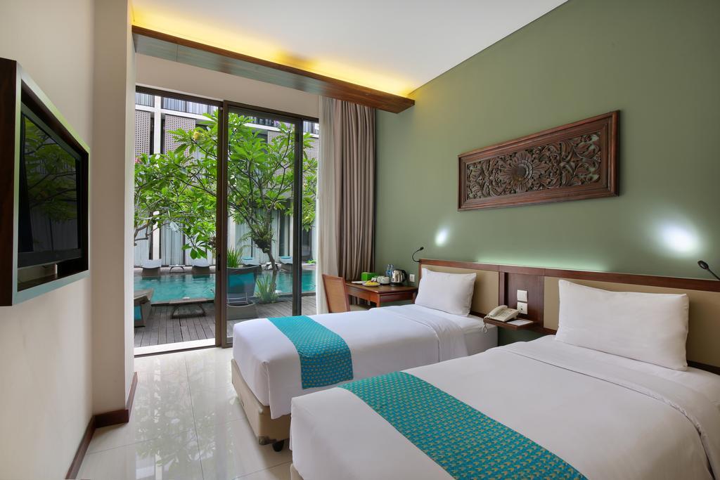 Серф отель на Бали, номер твин