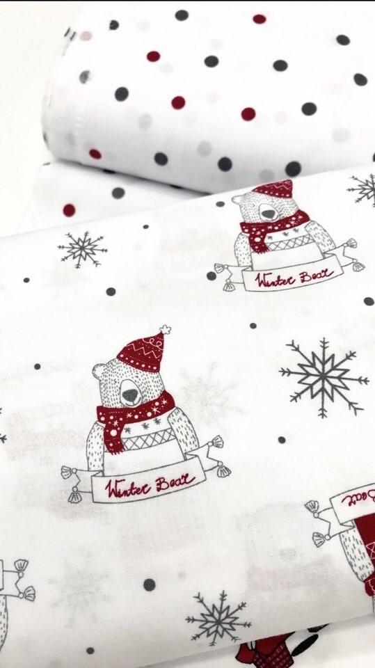 Ткани для постельного белья новогодней тематики