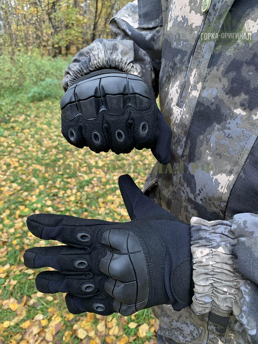 тактические перчатки с пальцами