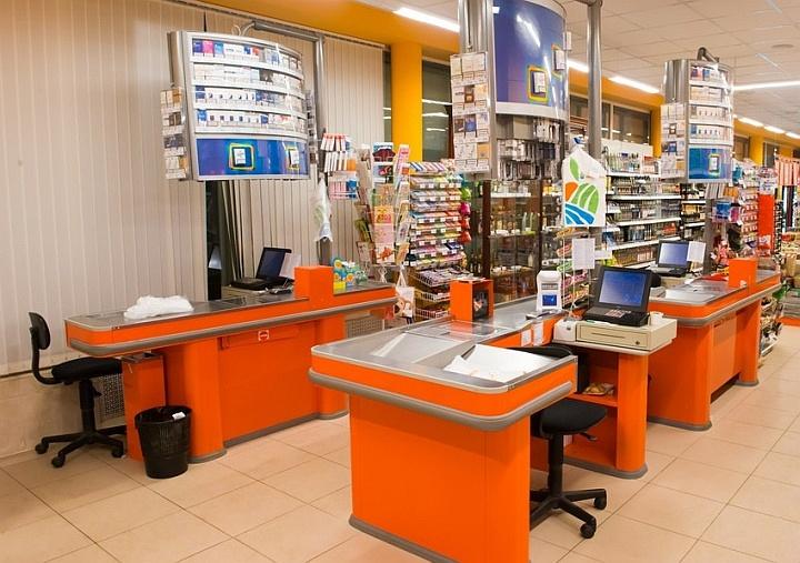 Предкассовое пространство в небольших магазинах так же важно, как и в супермаркетах