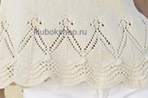 Вязание узора для женского джемпера