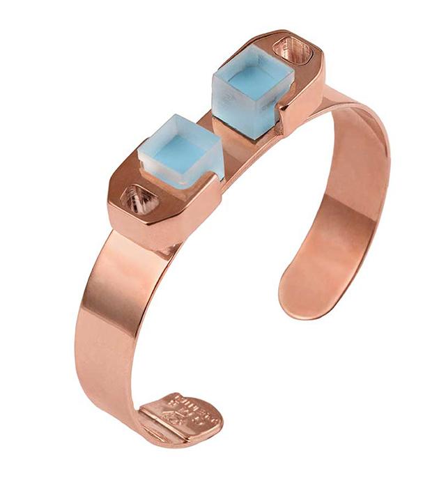 купите оригинальный браслет Rose Gold bracelet c плексигласом от Giuliana Mancinelli