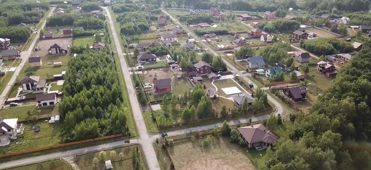 Дачные поселки в Заокском районе