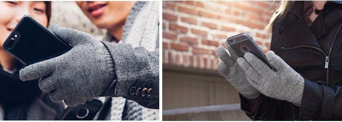 тёплый материал перчаток