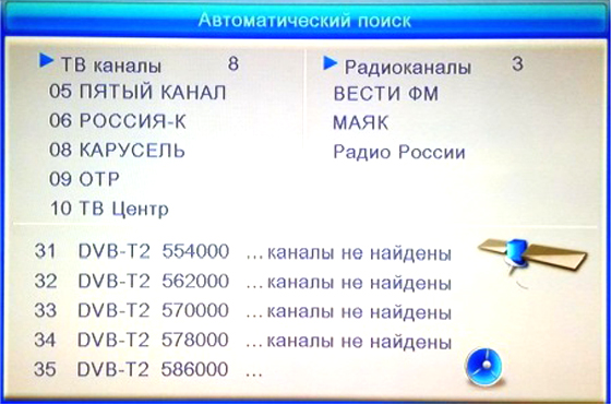 ЦИФРОВАЯ ТВ ПРИСТАВКА ORIEL 963 (DVB-T2)