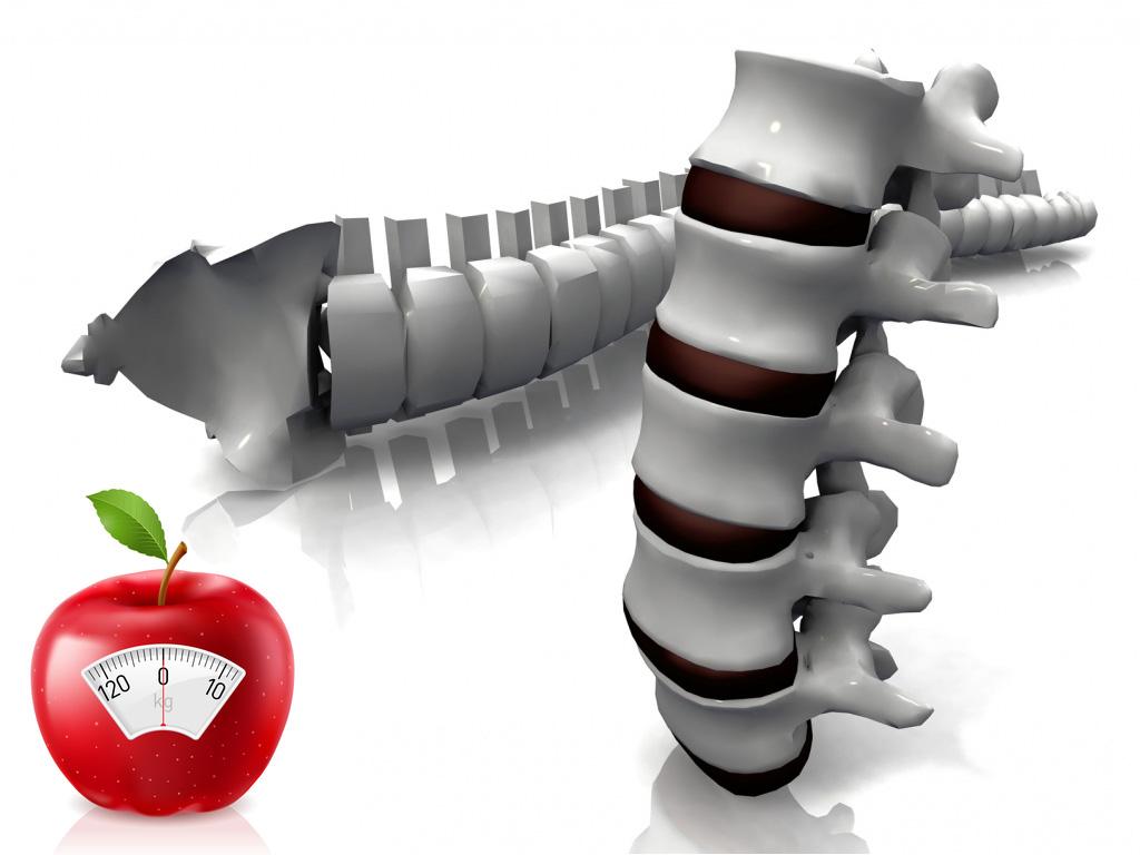 Яблоки избавят от проблем с позвоночником