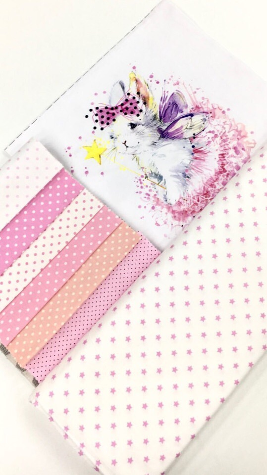 Ткани для бортиков в детскую кроватку девочке
