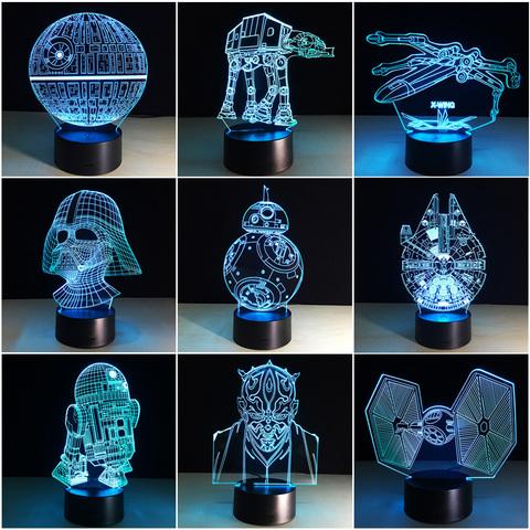 3D светильники всегда в наличии!