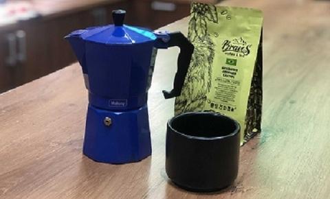 Гейзерная кофеварка Мока